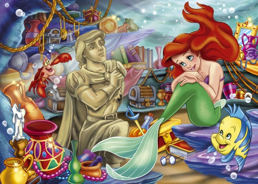 Icing Image Ariel The Little Mermaid